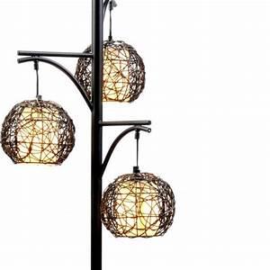 wicker floor lamps and lamps on pinterest With wicker floor lamp at kirklands