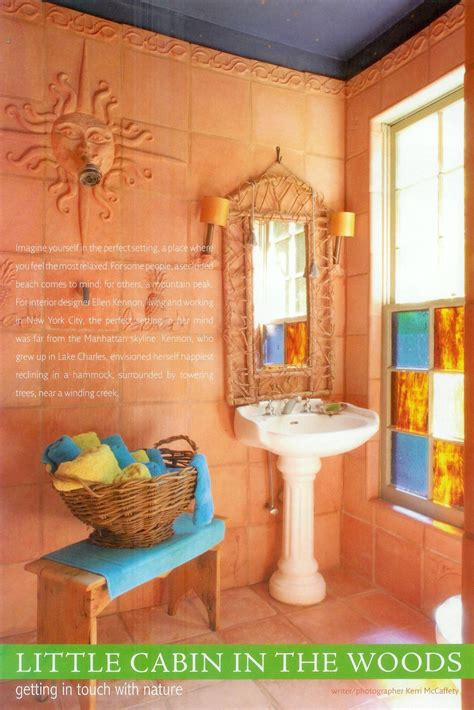 terracotta painted walls eurobath has custom made tiles to match our light terracotta