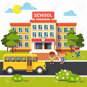 elementary school building clipart free - Clipground