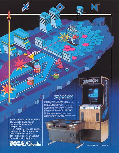 Zaxxon Arcade Game For Sale Vintage Arcade Superstore