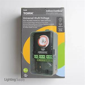 Tork Tu40 Universal Multivolt 24 Hour Time Switch Indoor  Out