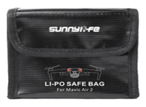 dji mavic air  custom lipo safety battery bag