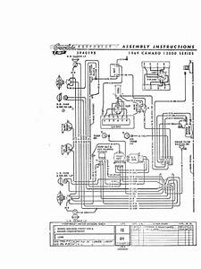69 Camaro Wiring Diagram 1 Of 3