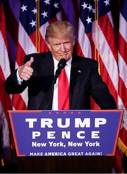 Trump Election Speech Donald Victory Win Presidency