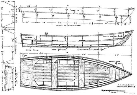 wooden boat plans  woodworking plans    plywood skiff wood boat plans