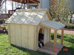Insulated dog house woodbin for Dog house construction