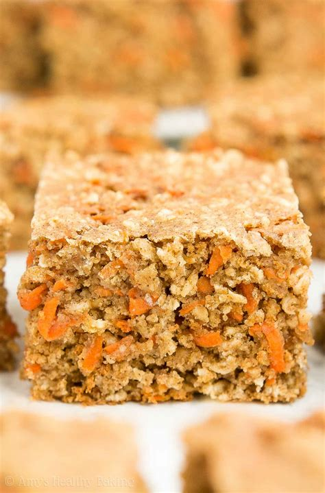 carrot snack cake healthy carrot cake oatmeal snack cake amy s healthy baking