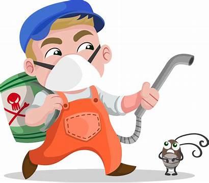 Pest Control Clipart Clip Exterminator Insecticide Spray
