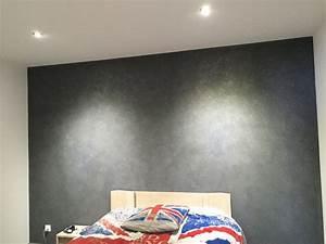 peinture chambre paillette ralisscom With peinture paillete chambre adulte