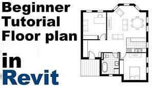 Revit Beginner Tutorial - Floor Plan  Part 1