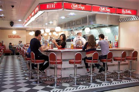 The Golden Cookbook American Diner Meal Turkey Burger
