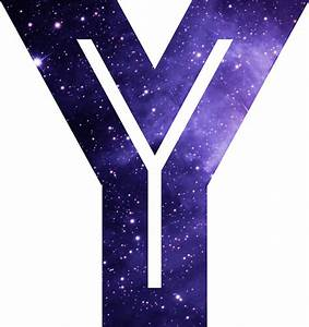 """The Letter Y - Space"" Stickers by Mike Gallard Redbubble"