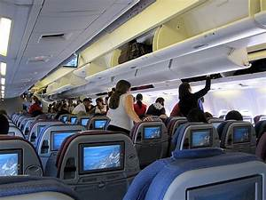 Inside the plane | LAN Airlines Boeing 767-300er / San ...