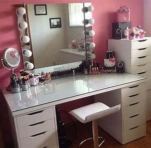 Make Up Schrank : ikea vanity table with lights ~ Frokenaadalensverden.com Haus und Dekorationen