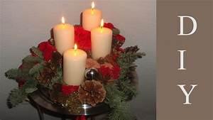 Weihnachtsdeko Zum Selber Machen : dekoideen weihnachten adventsgesteck weihnachtsdeko selber machen flora ~ Orissabook.com Haus und Dekorationen