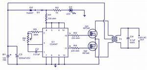Circuit  100w Inverter Circuit