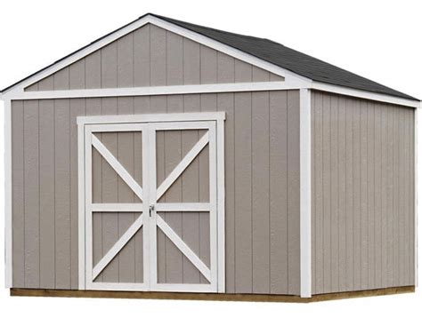 12 x 12 shed kit handy home columbia 12x12 wood storage shed kit 18215 0