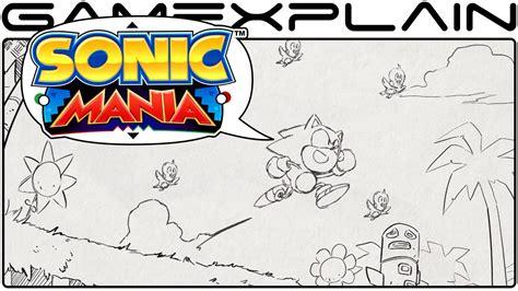 sonic mania release date trailer discussion