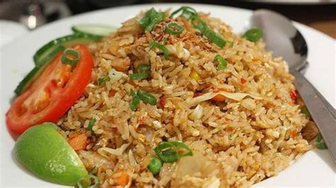 nasi goreng kampung  membuat nasi goreng