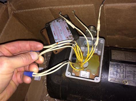 Drill Press Volt Single Phase Wiring Help