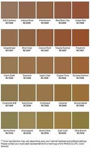Concrete Color Chart Ventry Concrete Of Wny