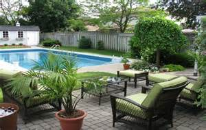 Home Inground Pool Landscaping Ideas