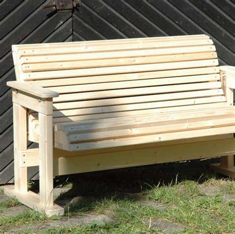 Sitzbank und Gartenbank bauen Bauanleitung für
