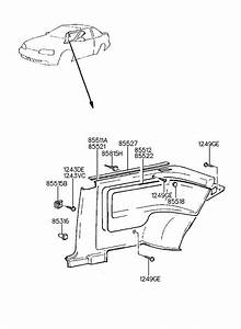 1994 Hyundai Scoupe Cover Assembly