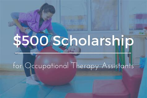 scholarship  cota students occupational therapy