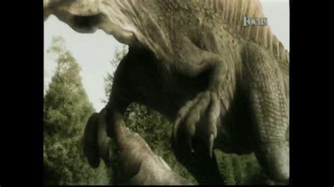 lo spinosaurus il dinosauro piu mostruoso  feroce