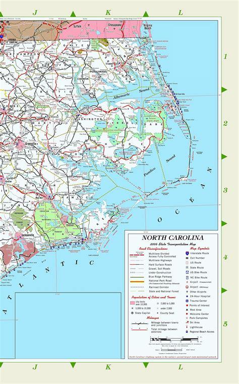 north carolina aa maps