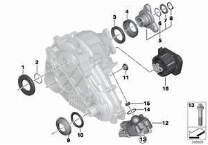 Bmw X5 Longitudinal Torque Module  Transfer  Case  Atc