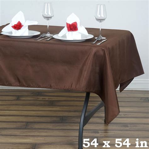 tablecloth for 54x54 square table 54 x 54 quot square polyester tablecloth wedding table linens