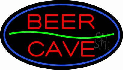 Beer Neon Cave Sign Signs Animated Giant
