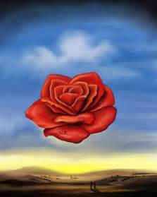 rose meditative 1958 by salvador dali