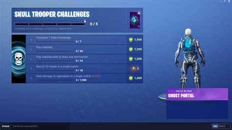 skull trooper challenges rewards fortnite news