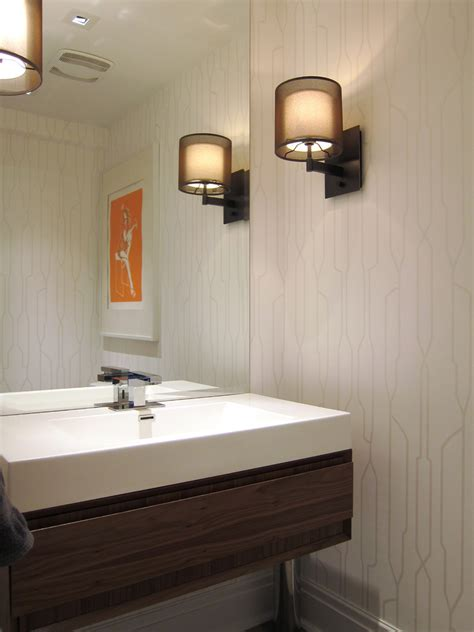 powder room mirror powder room contemporary with bathroom cool crate and barrel lighting trend other metro