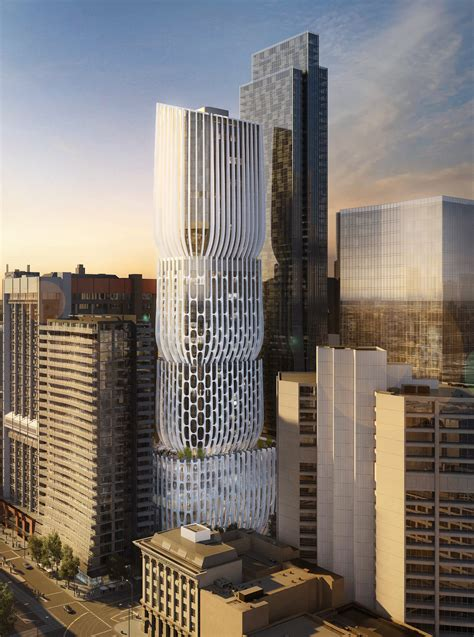 Zaha Hadid's First Tower in Melbourne Described as a