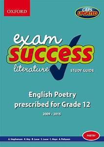 Exam Success Literature Study Guide  English Poetry