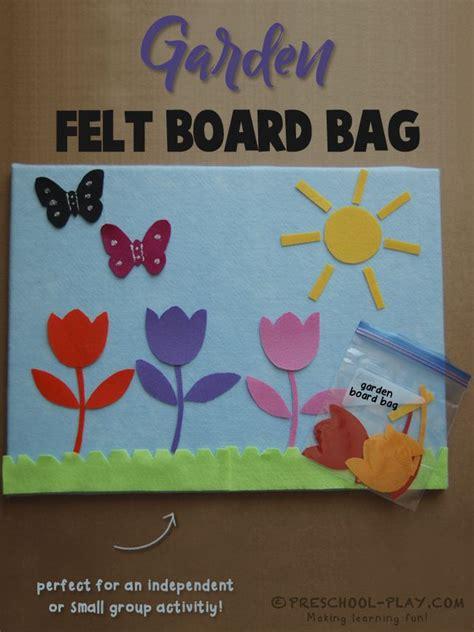 garden felt board themes in my garden preschool 644 | 59423f9368576db4b83f3d78932cf319