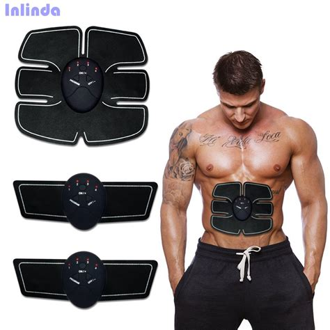 Ems Muscle Training Gear Abs Exercise Body Shape Fitness