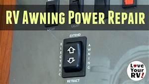 Rv Power Awning Repair