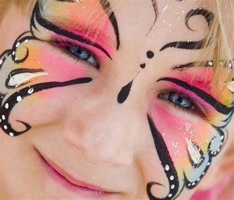 kinderschminken vorlagen bild 12 kinderschminken vorlage schmetterling