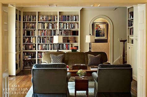 Living Room Library by Library Living Room Foxcroft Traditional Living Room