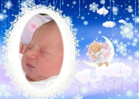 decorar de bebes con angeles fotomontajes infantiles