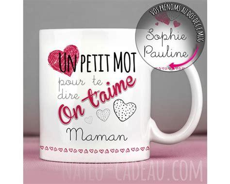 mugs personnalisés pour maman marraine ou une amie idées