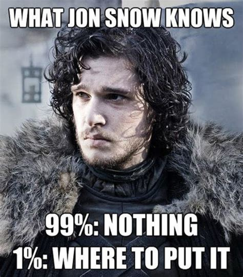 Jon Snow Memes - image 773088 you know nothing jon snow know your meme