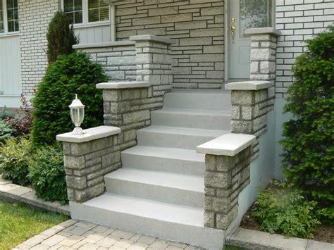decoration escalier beton exterieur