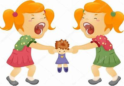 Sister Clipart Fighting Sibling Rivalry Clip Sisters