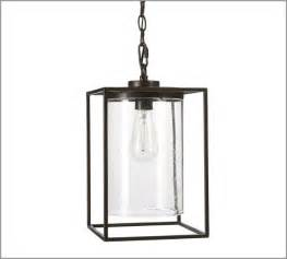 Pottery Barn Table Lamps Glass by Garrison Pendant Modern Outdoor Hanging Lights By